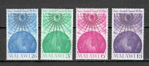S16468) Malawi 1964 MNH Christmas 4v
