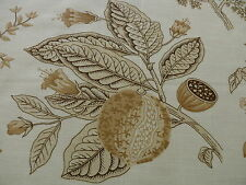 CLARENCE HOUSE AVIGNON LINEN PRINT NATURAL GREY ON NATURAL BTY