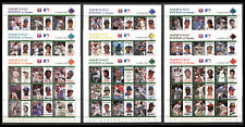 St. Vincent 1989, Baseball Major League Series 2, Full Set 9 Sheets MNH 615
