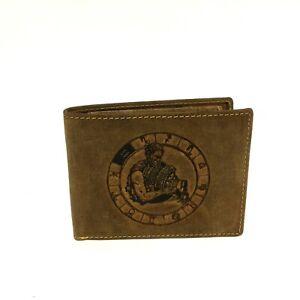 Greenburry Leder Geldbörse Portemonnaie Querformat Sternzeichen Wassermann 1705
