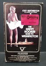 The Happy Hooker Goes to Washington (1977) (BETAMAX) Vestron #VB4010 (1982) RARE