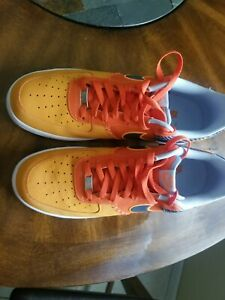 488298-800 Air Force One Orange Size 14... Worn 3 times..Shoes are 8.5/10..