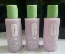 3 x Clinique Clarifying Lotion 2 Dry Combination Skin 2OZ/60ML*3 TRAVAL SIZE