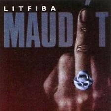 LITFIBA (cd promo Raro) MAUDIT Piero Pelù -  Federico Ghigo Renzulli  1992