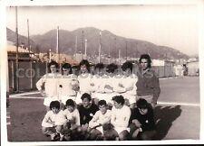 FOTO 1971 SQUADRA DI CALCIO ESORDIENTI ERG - AEROPORTO - GENOVA - C10-367