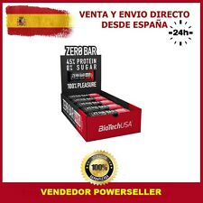 Biotech usa Zero bar 20 X 50 GRS doble chocolate