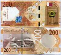 Qatar 200 Riyal 2020 P New Design UNC