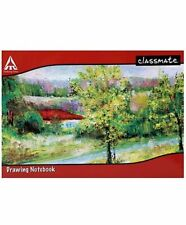 Classmate Drawing Note Book - Soft Cover, 40 Pages, 275x347mm,A4 Size|Pack Of 6