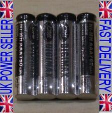 4 x Digimax AAA 1.2V LR3 UM4 750 mAh NiMH Rechargeable Batteries SALE
