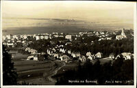 Nýrsko na Šumavě Tschechien Česká Böhmen AK ~1940 Panorama Gesamtansicht Häuser
