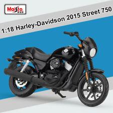 Maisto 1:18 Harley-Davidson 2015 Street 750 Motorcycles Diecast Model NEW In Box