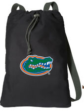 Florida Gators COTTON Drawstring Backpack COMFORTABLE COTTON! NOT CHEAP NYLON!