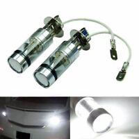 2* H3 6000 Karat 100 Watt LED 20-SMD High Power Nebel Driving DRL Glühbirnen
