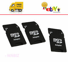 10 x MICRO SD ADAPTOR MINI ADAPTER SDHC MEMORY CARD CONVERTER TO STANDARD SD