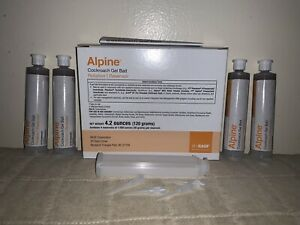 Alpine Cockroach Bait 4 Pack Replaces Advance Cockroach Gel Bait Rotation 1 Gel