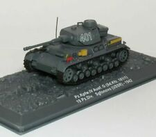 Panzer kpfw IV Ausf G  (USSR) 1942,German WWII Tank,Scale 1:72 by DeAgostini