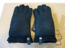 Ugg Tenney Black Women Gloves US Size L