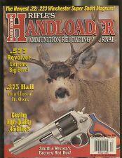 RIFLES HANDLOADER MAGAZINE DECEMBER 2003 .577 REVOLVER .375 H&H NEWEST .22