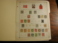Norway 1856-1939 collection 47 stamps