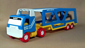 """Vintage 1987 My First Buddys Buddy L Car Carrier Auto Hauler Truck 18"""""""