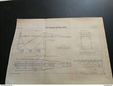ANNALES PONTS et CHAUSSEES - Plan de Pose Mécanique des Voies Ferrées 1898
