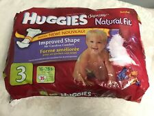 Huggies Diapers Supreme Natural Fit Size 3 Discontinued Pooh Pampers 16-28 LB