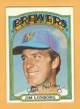 1972 Topps Baseball Signed AUTO Autographed Cards