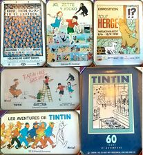 More details for vintage moulinsart/other tintin promo posters official herge individual purchase