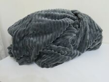 POTTERY BARN TEEN CHARCOAL CHAMOIS BEANBAG CHAIR COVER NEW LARGE