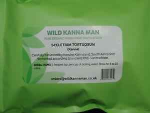Sceletium Tortuosum 100% pure 25 grams organically grown tea cut - whole plant
