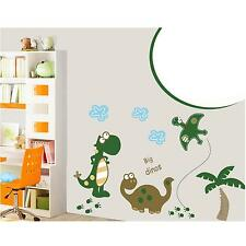 Bedroom Living Room Home Decor Cartoon Dinosaur Tree Wall Sticker Decal DIY Art