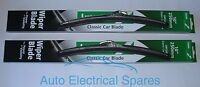 "lucas STAINLESS STEEL wiper blade 10"" PAIR for CLASSIC Mini / Mini Cooper"