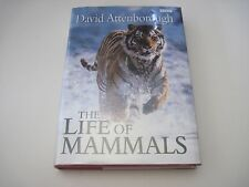 David Attenborough The Life of Mammals Signed First 1st