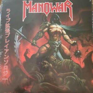 MANOWAR – Live EP's Anthology (LIM. 500 BLACK VINYL)