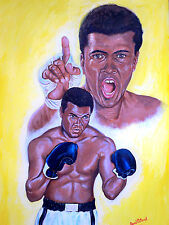 """Ali """"I'm the greatest"""" by David Putland -A3 Limited edition Prints - Boxing Art"""