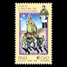 """Italy 2008 - Folklore """"Sulmona's Feast Day"""" Culture Art - Sc 2863 MNH"""