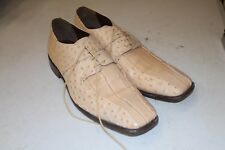 STACY ADAMS MEN'S LENOX Beige DRESS SHOE 13 M, 24141 FORMAL OXFORD LACE UP