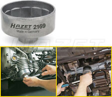 """Hazet 14 Point Engine Oil Filter Wrench 74.4mm with 3/8"""" Drive / 27mm New 2169"""