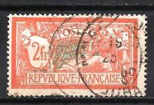 France 1907 type Merson Yvert n° 145 oblitéré 1er choix (1)