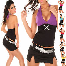 WOMEN CLUBBING TOP LADIES BLOUSE SEXY PARTY STRETCH SHIRT UK SIZE 6 8 10 12