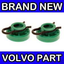 Volvo 850, S70, V70, V70XC Green Window Regulator Rollers / Sliding Block (x2)