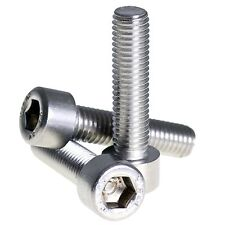 M6 x 30 A2 STAINLESS ALLEN BOLT SOCKET CAP SCREW HEX HEAD SCREWS 10 PACK DIN 912