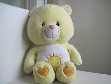 "GIANT Big Jumbo Care Bears FUNSHINE BEAR 25"" Plush Stuffed Animal"
