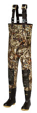 New Men 5mm MAX-4 Camo Fishing/Hunting Neoprene Wader Lug Boots Size 13 Regular