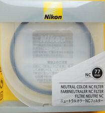 Nikon 77mm Neutral Color NC Filter Genuine Nikon 77mm NC