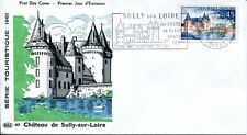 FRANCE FDC - 404 1313 4 SULLY SUR LOIRE flamme 7 10 1961