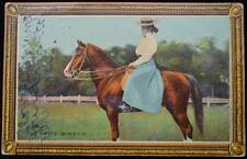 1910 THE PRIZE WINNER HORSE SHOW POSTCARD GAINESBORO TO COOKEVILLE TN TENNESSEE