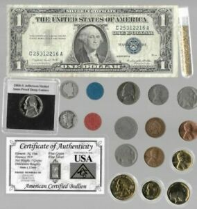 Silver Dollar Barber Mercury Liberty Indian Rare US Coin Collection Lot Gold 256