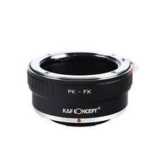 K&F Concept Pentax PK lens to Fujifilm Fuji FX Mount Camera Adapter Ring PK-FX