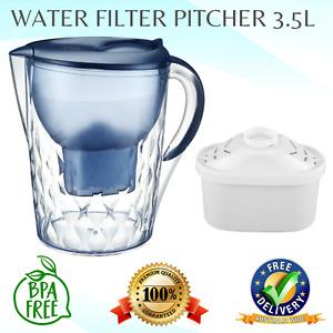 Aimex BLUE Pitcher BenchTop Water Filter Pitcher Purifier Jug 3.5L Kettle Refill